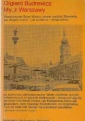 Okładka książki My, z Warszawy