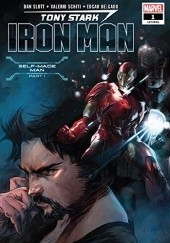Okładka książki Tony Stark: Iron Man #1 Dan Slott,Valerio Schiti