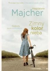 Okładka książki Zimny kolor nieba Magdalena Majcher