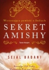 Okładka książki Sekret Amishy Sejal Badani