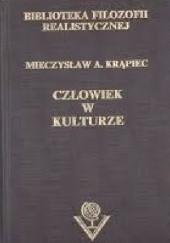 Okładka książki Człowiek w kulturze Mieczysław Albert Krąpiec OP