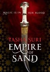 Okładka książki Empire of Sand Tasha Suri