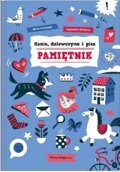 Okładka książki Konie, dziewczyna i pies. Pamiętnik Jacek Podsiadło