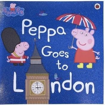 Okładka książki Peppa Goes to London praca zbiorowa