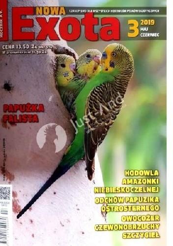 Okładka książki Nowa Exota 3/2019 praca zbiorowa