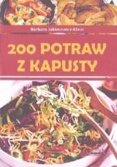 Okładka książki 200 potraw z kapusty Barbara Jakimowicz-Klein