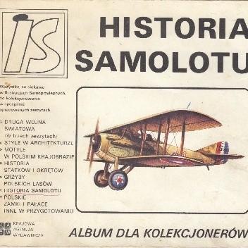 Okładka książki Historia samolotu Eryk Falcman
