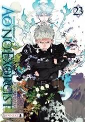 Okładka książki Ao No Exorcist 23 Kato Kazue