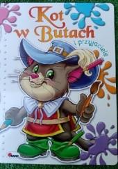 Okładka książki KOLORUJĘ 4 BAŚNIE. Kot w Butach i przyjaciele praca zbiorowa