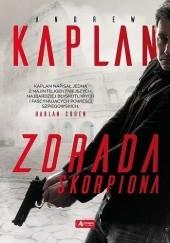 Okładka książki Zdrada Skorpiona Andrew Kaplan