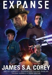 Okładka książki The Expanse: Origins James S.A. Corey, Georgia Lee, Hallie Lambert, Huang Danlan