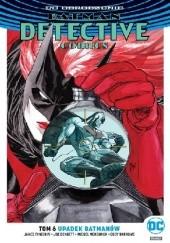 Okładka książki Batman - Detective Comics: Upadek Batmanów Eddy Barrows,James Tynion IV,Joe Bennett,Miguel Mendonça