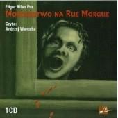 Okładka książki Morderstwo na Rue Morgue Edgar Allan Poe