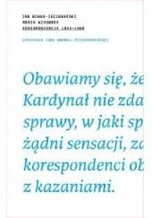 Okładka książki Korespondencja 1955-1989 Jan Nowak-Jeziorański,Maria Winowska