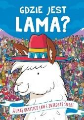 Okładka książki Gdzie jest Lama? Frances Evans