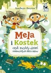 Okładka książki Mela i Kostek czyli zwykły dzień niezwykłych bliźniaków Anastasiia Moshina