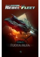 Okładka książki Flota Alfa B.V. Larson