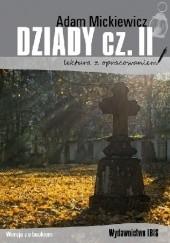 Okładka książki Dziady cz. II Adam Mickiewicz
