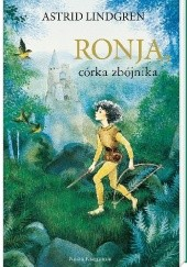 Okładka książki Ronja, córka zbójnika Astrid Lindgren