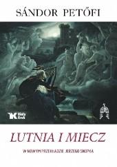 Okładka książki Lutnia i miecz Sándor Petőfi