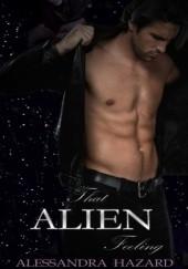 Okładka książki That Alien Feeling Alessandra Hazard