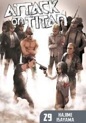 Okładka książki Attack on Titan #29 Isayama Hajime