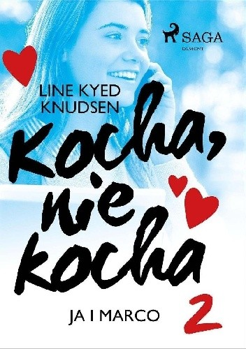 Okładka książki kocha, nie kocha ja i Marco Line Kyed Knudsen