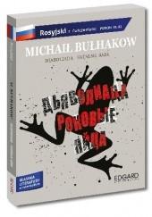 Okładka książki Diaboliada. Fatalne jaja - adaptacja klasyki z ćwiczeniami - język rosyjski Michaił Bułhakow