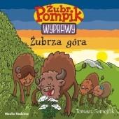 Okładka książki Żubr Pompik. Wyprawy. Żubrza góra Tomasz Samojlik