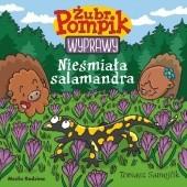 Okładka książki Żubr Pompik. Wyprawy. Nieśmiała salamandra Tomasz Samojlik