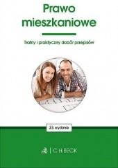 Okładka książki Prawo mieszkaniowe praca zbiorowa