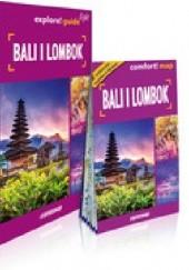 Okładka książki Bali i Lombok 2w1: przewodnik light + mapa Anna Kalicka,Adam Nitka