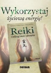 Okładka książki Reiki. Odkryj moc zdrowia Marta Pyrchała-Zarzycka