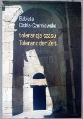 Okładka książki tolerancja czasu Elżbieta Cichla-Czarniawska