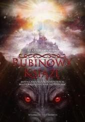 Okładka książki Rubinowy Książę Beata Worobiec