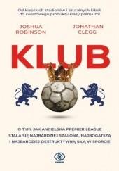 Okładka książki Klub Joshua Robinson,Jonathan Clegg