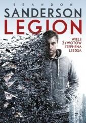 Okładka książki Legion: Wiele żywotów Stephena Leedsa Brandon Sanderson