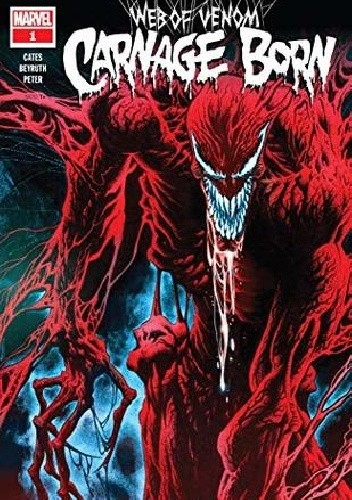 Okładka książki Web Of Venom- Carnage Born Danilo Beyruth,Donny Cates,Kyle Hotz