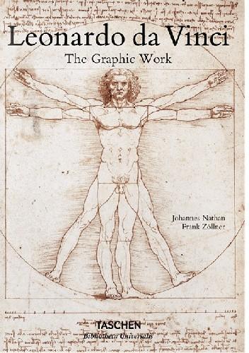 Okładka książki Leonardo da Vinci: The Graphic Work Johannes Nathan,Frank Zöllner