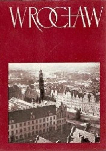 Okładka książki Wrocław Tadeusz Broniewski