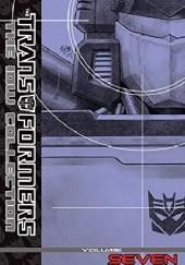 Okładka książki The Transformers: The IDW Collection Vol. 7 Dan Abnett,Andy Lanning,Mike Costa