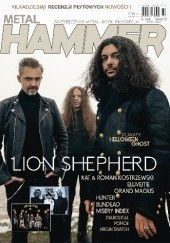 Okładka książki Metal Hammer, nr 4 (334) / 2019 Redakcja magazynu Metal Hammer