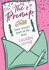 Okładka książki The Prenup Lauren Layne