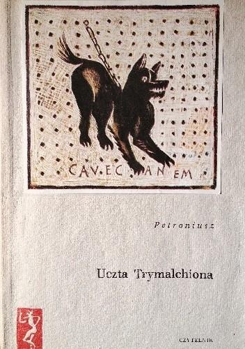 Okładka książki Uczta Trymalchiona Petroniusz