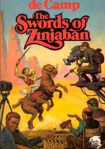 Okładka książki The Swords of Zinjaban Catherine Crook de Camp,L. Sprague de Camp