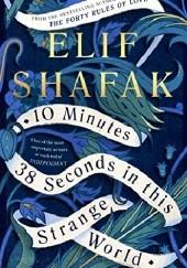 Okładka książki 10 Minutes 38 Seconds in This Strange World Elif Şafak