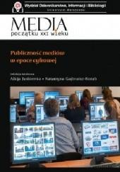 Okładka książki Publiczność mediów w epoce cyfrowej