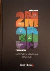 Okładka książki 2M3D. Niedopowiedziane historie Michał Bańka