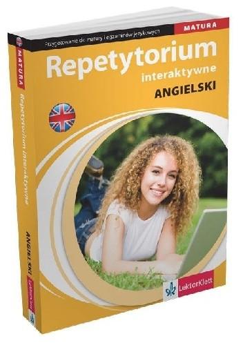 Okładka książki Repetytorium interaktywne. Język angielski. Przygotowanie do matury i egzaminów językowych Donata Olejnik