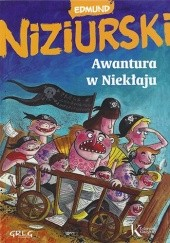 Okładka książki Awantura w Niekłaju Edmund Niziurski